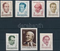 1961 Arcképek vágott sor (8.000)