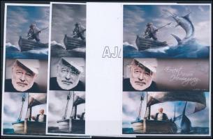 2016/11 Ernest Hemingway 4 db-os emlékív garnitúra (28.000)