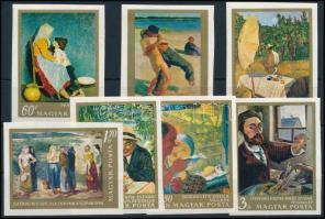 1967 Festmények (III.) vágott sor (3.500) (60f és 3Ft törés)