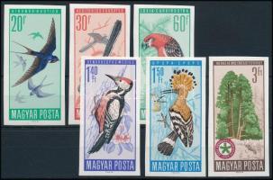 1966 Természetvédelem (II.) - Madarak vágott sor (5.500)