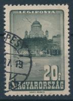 1947 Repülő 20f csónak lemezhiba (15.000)