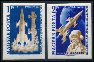1961 Első ember a világűrben - Gagarin vágott sor (12.000)
