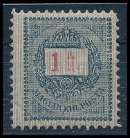 1889 1Ft 11 1/2 fogazással (50.000)