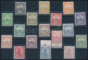 1909 Turul sor, a 2K postatiszta (85.000)