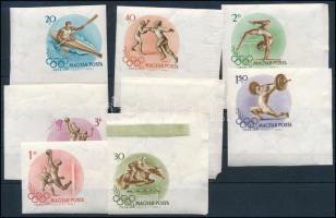 1956 Olimpia vágott sor hatalmas ívszélekkel (apró hibák)