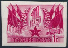 1955 Május 1. (VI.) vágott bélyeg (6.000)
