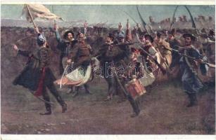 Esküszünk. Országos Anya- és Csecsemővédő Egyesület 905. / Hungarian Revolution of 1848 s: Pap