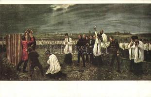Aradi vértanúk. Országos Anya- és Csecsemővédő Egyesület 920. / Martyrs of the Hungarian Revolution of 1848 s: Thorma
