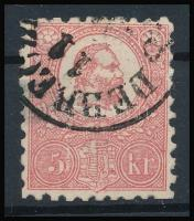 1871 Kőnyomat 5kr DEBRECZ(EN)