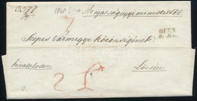 1848 Ex offo OFEN - Lőcse