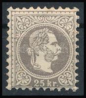 1867 25kr, erős szín