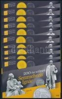 2018 10 db 200 éve született Semmelweis Ignác emlékív (15.000)