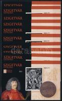 2016 10 db Szigetvár ostroma emlékív (15.000)