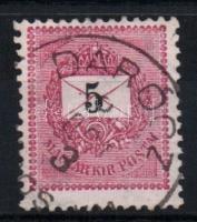 1889 5kr DARÓCZ / SÁROS VM.