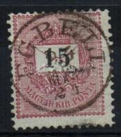 1889 15kr EGBELL