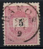 1889 5kr DÁNOS