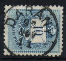 1881 10kr DARÁNY