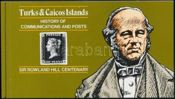 Rowland Hill self-adhesive stamp-booklet, Rowland Hill öntapadós bélyegfüzet