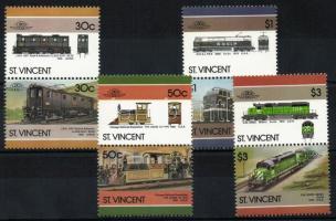 Locomotives VI. 4 pairs (set), Mozdonyok VI. 4 pár (sor), Lokomotiven VI. 4 Paare (Satz)