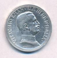 Olaszország 1916R 2L Ag III. Viktor Emánuel T:1-,2 kis ph.  Italy 1916R 2 Lire Ag Vittorio Emanuele III C:AU,XF small edge error Krause KM#55