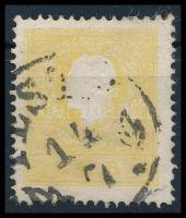 """2kr II light yellow, nice colour """"PESTH"""" Certificate: Steiner, 2kr II. típus világossárga, szép élénk szín """"PESTH"""" Certificate: Steiner"""