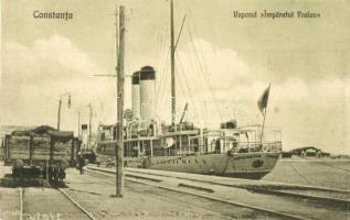 Constanta, Vaporul Imparatul Traian / Romanian passenger steamer
