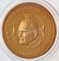 Vatikán 2002. 50c II. János Pál próbaveret T:1 Vatican 2002. 50 Cents John Paul II trial strike C:UNC