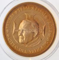 Vatikán 2002. 10c II. János Pál próbaveret T:1  Vatican 2002. 10 Cents John Paul II trial strike C:UNC