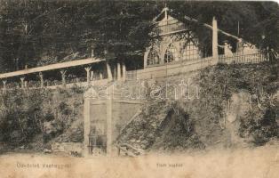 1908 Vashegy, Zelezník (Gömör); Tiszti kuglizó / officers bowling alley (fa)