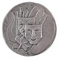 1979. VII. Országos Diáknapok Sopron 1979 ezüstözött fém emlékérem. Szign.: RK (88mm) T:2
