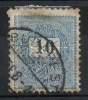 1889 10kr a vízjel T betűje hiányzik