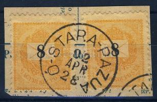 1881 10kr+1889 8kr Ó-STARA-PAZUA
