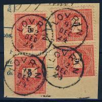 1889 4x5kr LOVRIN