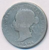 Kanada 1890H 25c Ag Viktória T:3 Canada 1890H 25 Cents Ag Victoria C:F