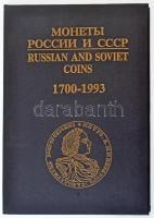 I. Rylov, V. Sobolin: Russian and Soviet Coins 1700-1993. Moszkva, 1994. Orosz-angol nyelvű katalógus, használt, jó állapotban, egyes oldalak kissé gyűröttek.