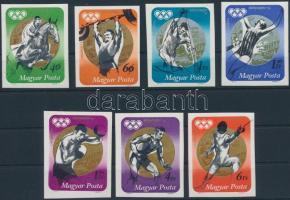 1973 Olimpiai érmesek vágott sor (3.500)