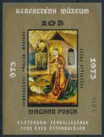 1973 Festmény XII. vágott blokk (3.500)