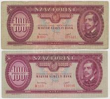 1949. 100Ft (2x) T:III  Adamo F28