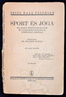 Selva Raja Yesudian: Sport és jóga. Bp., 1941. Stádium. Sérült fűzéssel
