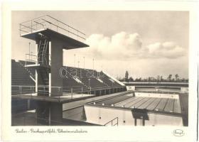 1936 Berlin Reichssportfeld, Schwimmstadion / Olympic Stadium for swimming