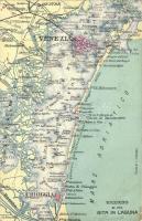 Ricordo di una gita in Laguna di Venezia / Venetian Lagoon map (EK)