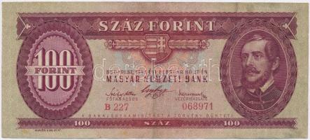 1947. 100Ft T:III szép papír Adamo F27