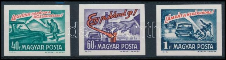 1973 Balesetmegelőzés vágott sor (3.000)