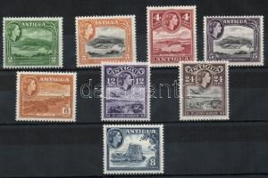 1953/56 Tájak, II Erzsébet Mi 101-115