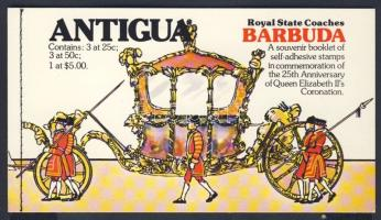 Queen Elisabeth II stamp booklet, II Erzsébet koronázádánsk 25 évfordulója bélyegfüzet, 25 Jahre Regentschaft von Königin Elisabeth II. (III). Markenheftchen