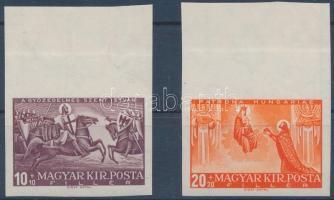 1938 Szent István ívszéli vágott pár (50.000)