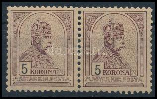 1904 Turul 5K pár, POSTATISZTA!! (220.000++)