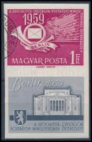 1959 Postaügyi miniszterek értekezlete (II.) vágott (3.500)
