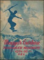 1934 A magyar cserkész c. újság felszerelési melléklete