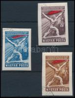1959 Magyar Tanácsköztársaság (IV.) vágott sor (4.000)